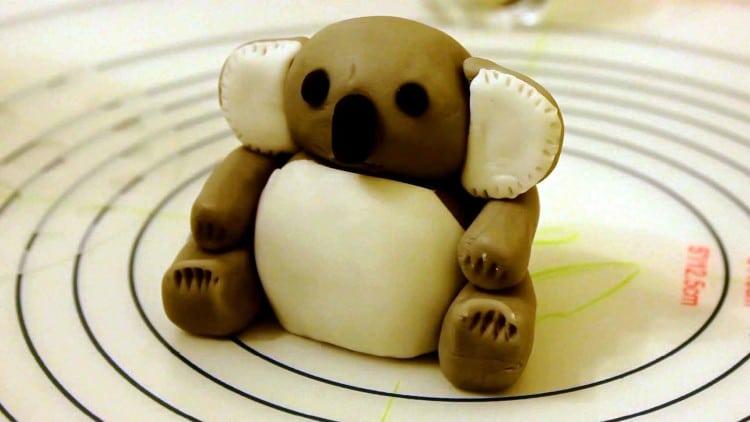 Fondant Koala Bear