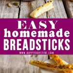 Easy Homemade Breadsticks Picture Collage