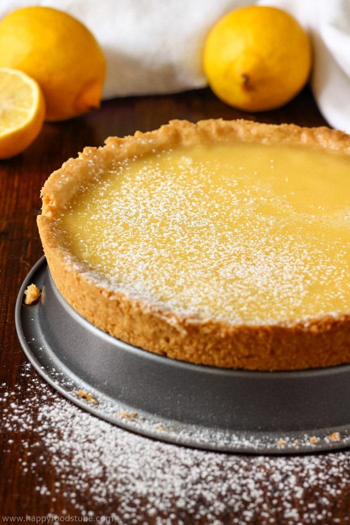 Simple Homemade Lemon Tart Pictures