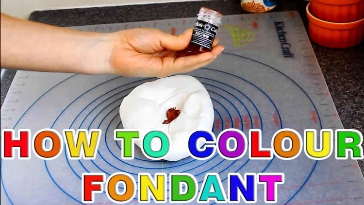 How to Colour Sugar Paste Fondant