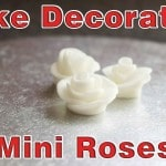 Simple Cake Decorating – Mini Roses