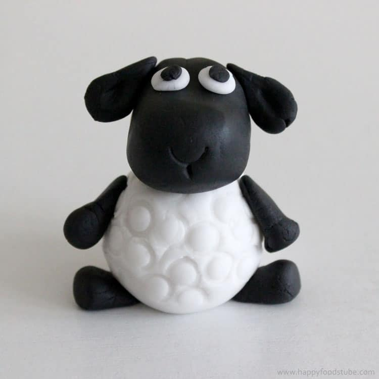 How To Make A Sheep Cake Topper