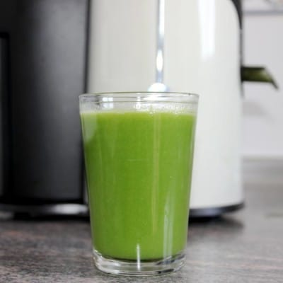 Green Healthy Detox Vegetable Juice Recipe