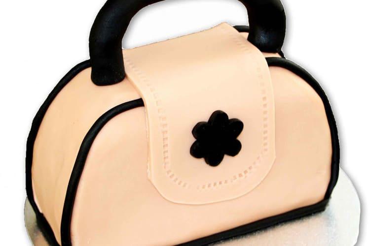 Handbag Cake Fondant Tutorial