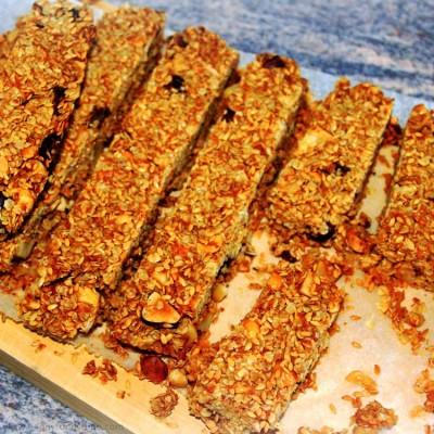 How to make Homemade Healthy Granola Bars