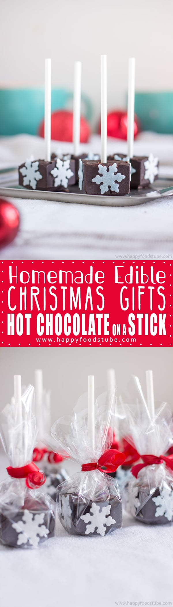 Homemade Hot Chocolate Sticks - Happy Foods Tube