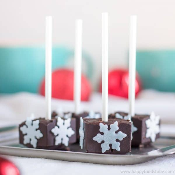 Homemade Hot Chocolate Sticks
