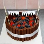 Kit Kat Candy Bars Cake