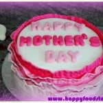 How to make a Ruffled Mother's Day Fondant Cake