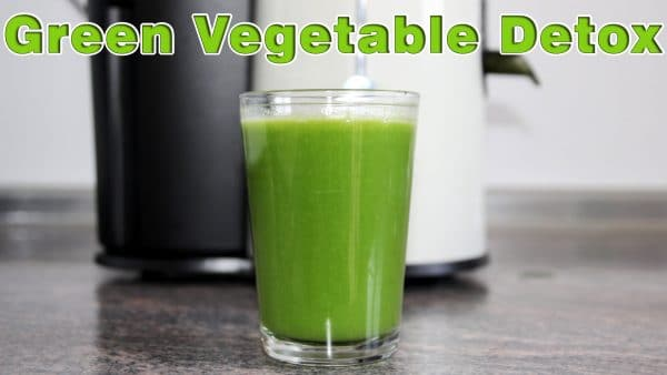 Green Healthy Detox Vegetable Juice Recipe Happy Foods Tube