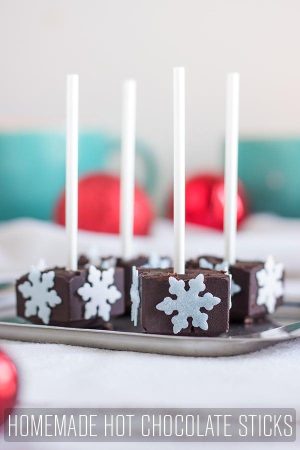 Homemade Hot Chocolate Sticks Recipe