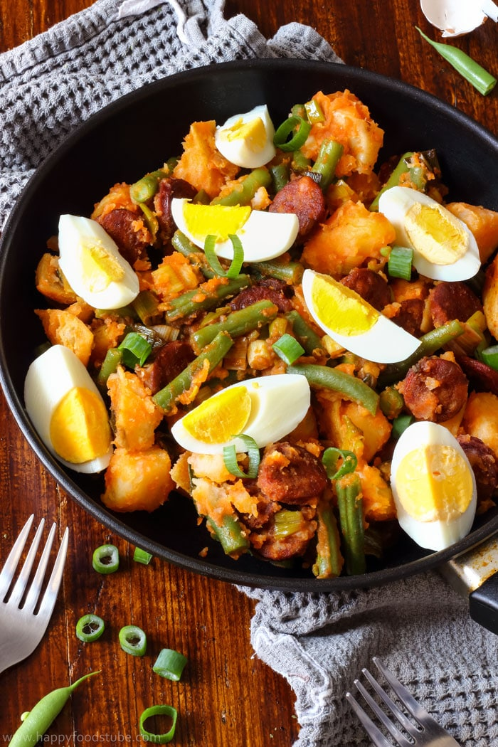 Spanish Chorizo Potato Salad Image