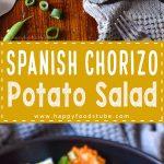 Spanish Chorizo Potato Salad Recipe