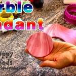 How to Marble Fondant with Food Colours