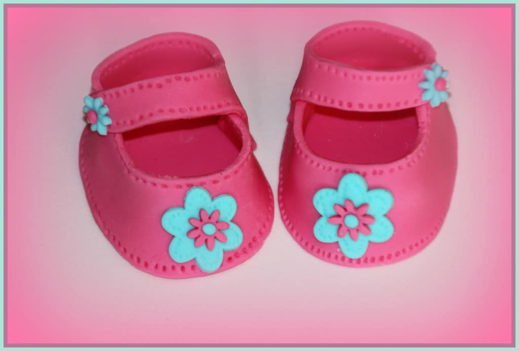 How To Make Fondant Baby Shoes Easy Cake Decorating Tutorial Shower
