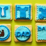 Father's Day Fondant Cake Toppers