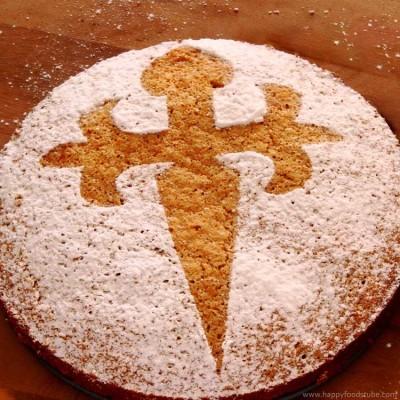 Almond Cake – Tarta de Santiago