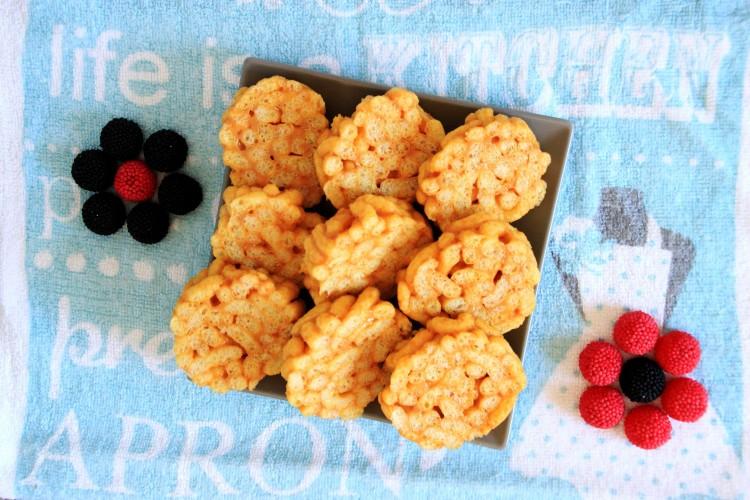 Caramel Corn Puffs Kass Arturi Kook Estonian Kids Dessert   happyfoodstube.com