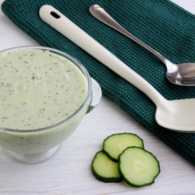 Chilled Cucumber & Yogurt Soup
