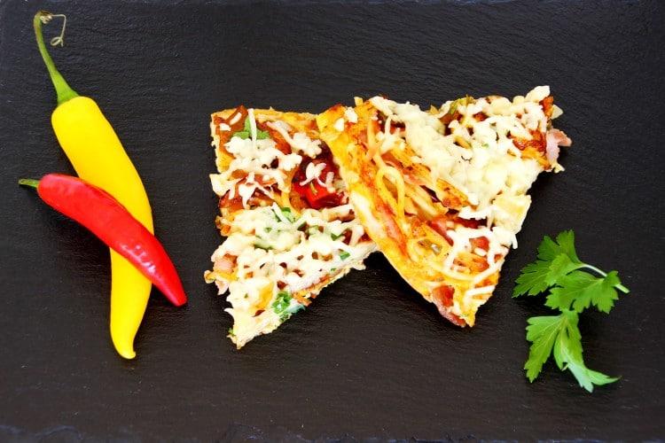 Omelette Recipe | happyfoodstube.com