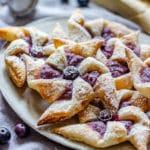 Blueberry Danish Pinwheels Recipe