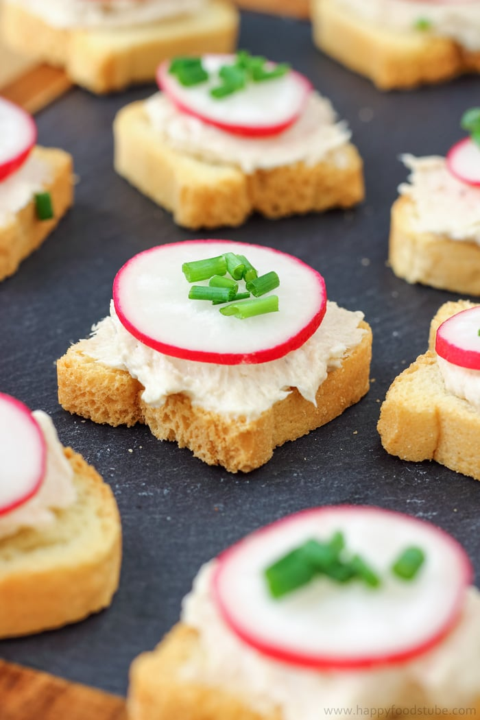 Tuna Mousse Dip and Appetizers Photo