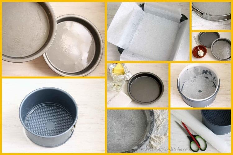 How To Prepare Cake Tins Happy Foods Tube