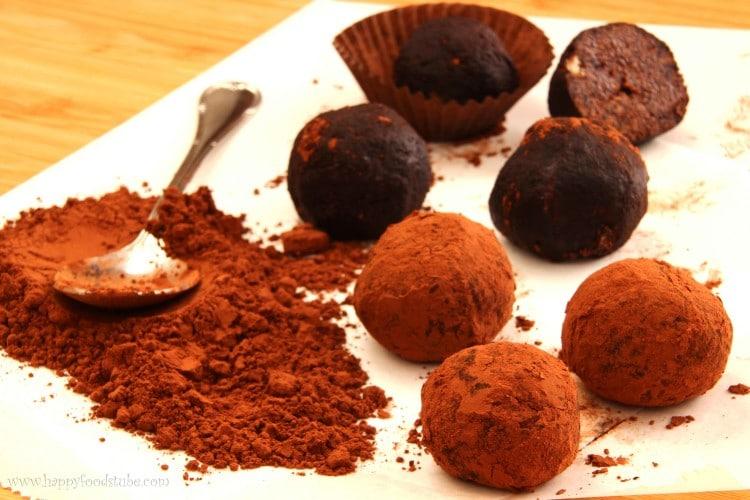 Chocolate Truffles | happyfoodstube.com