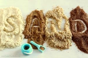 Edible Sand