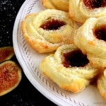 Fig Puff Pastry Roses