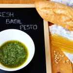 Homemade Fresh Basil Pesto