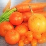 Orange Coloured Fruits And Vegetables