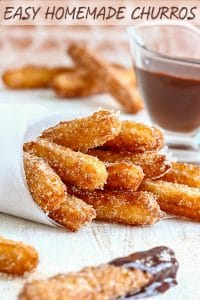 Quick and Easy Homemade Churros Recipe