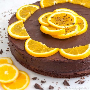 Chocolate Orange Cake with Chia Seeds