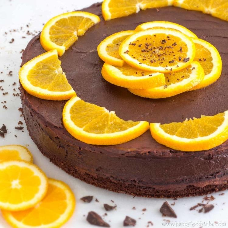 Easy orange juice cake recipe