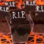 Easy R.I.P. Dessert Shots For Halloween