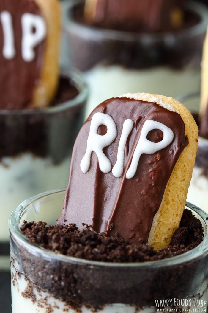 RIP Halloween Dessert Shooters Photo