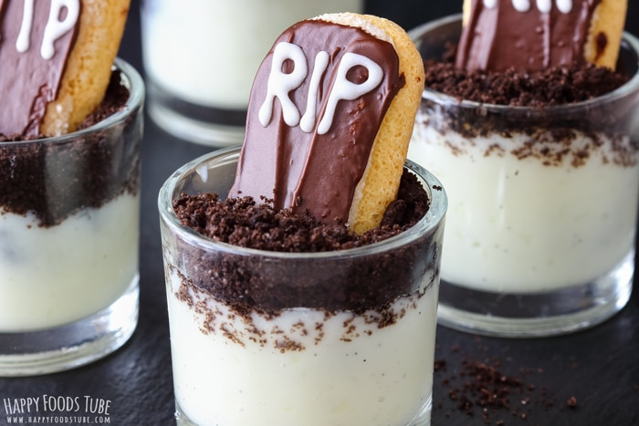 RIP Halloween Dessert Shooters Pic