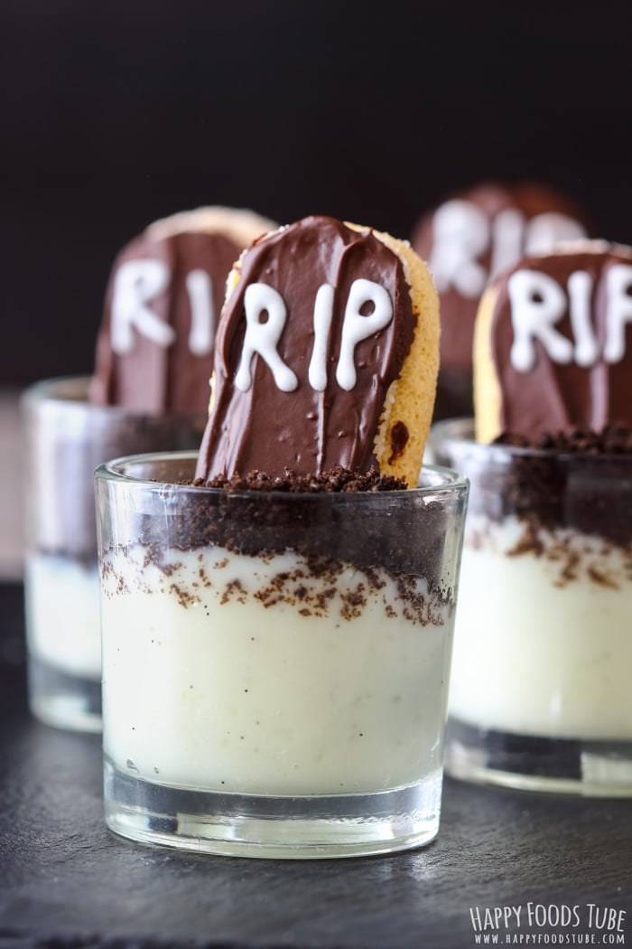 RIP Halloween Dessert Shooters Picture