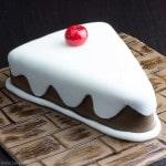 Fondant Cake Slice