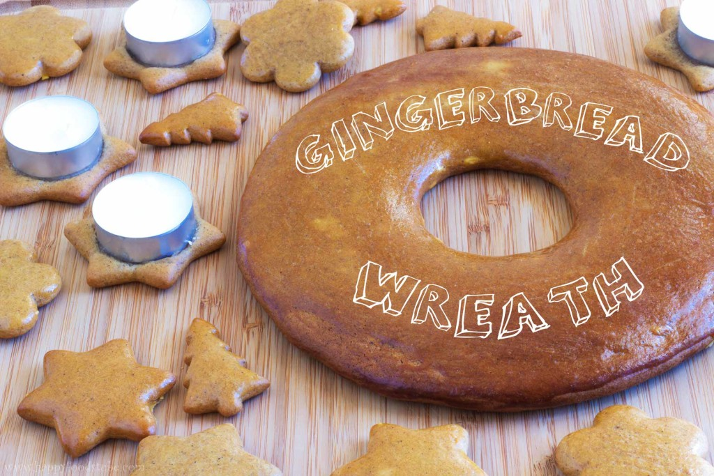Gingerbread Advent Wreath Baking