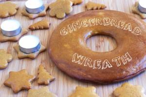 Gingerbread Advent Wreath Baking