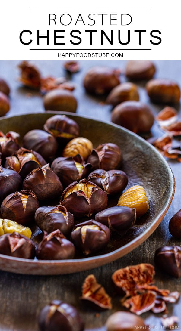 Roasted chestnuts pin
