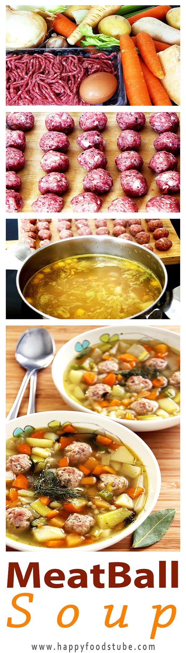 Estonian Meatball Soup is one of our favorite recipes. This soup is a perfect option during cold winter months. Quick and easy