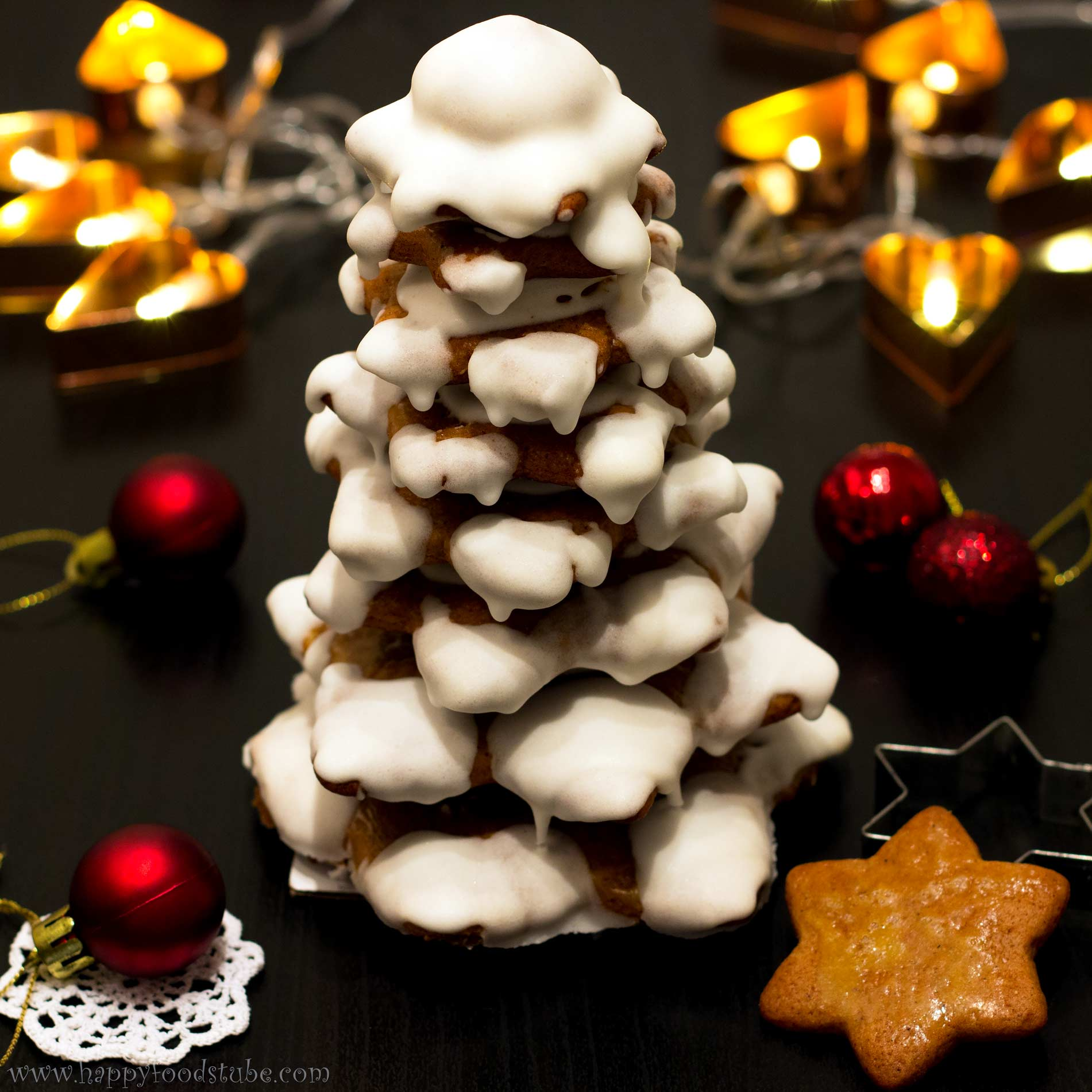 gingerbread christmas tree - Gingerbread Christmas Decorations