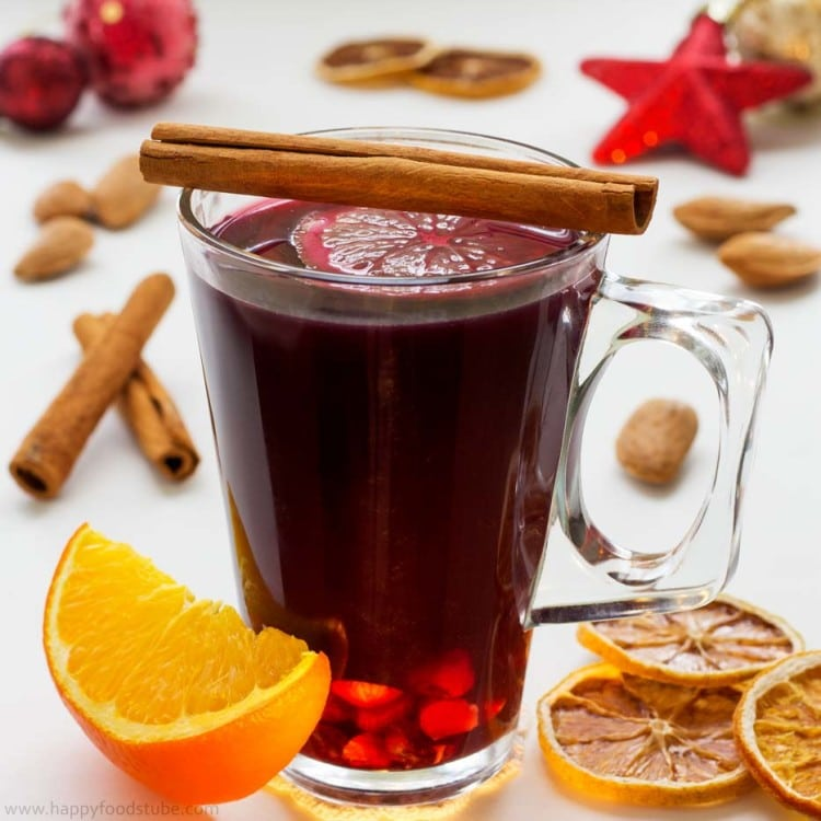 Mulled Wine Gluhwein Glogg Recipe