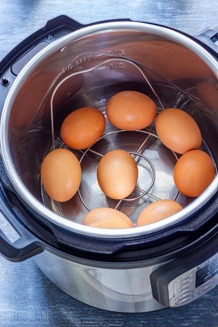Hard Boiled Eggs for making Deviled Eggs