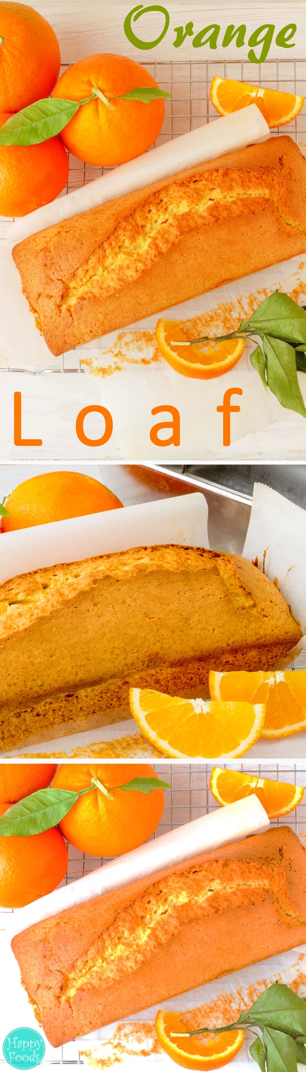 Orange Loaf Cake perfect treat for a coffee/tea break and absolutely delicious when butter with jam or honey are spread over. Simple recipe