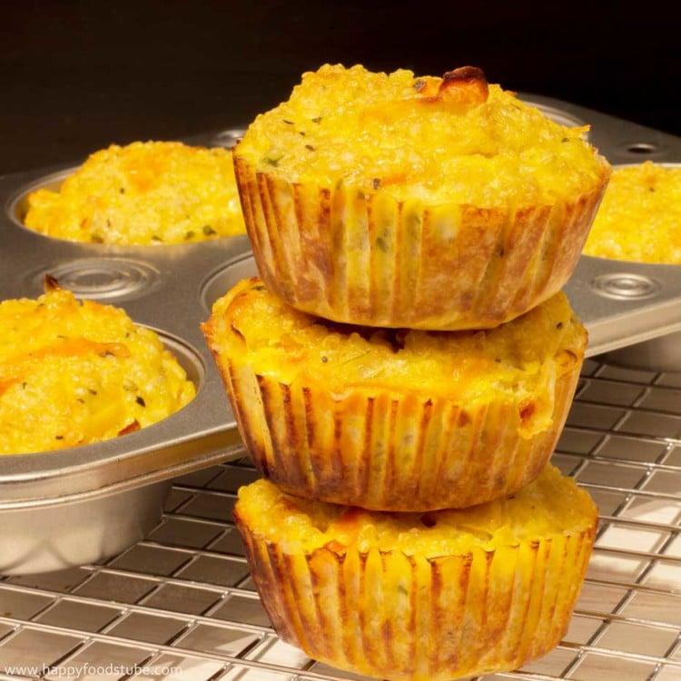 Vegetarian Quinoa Muffins