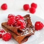 Dark Chocolate Crepes